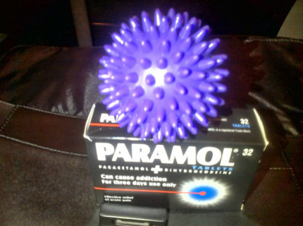 Paramol can help when running on an injury.