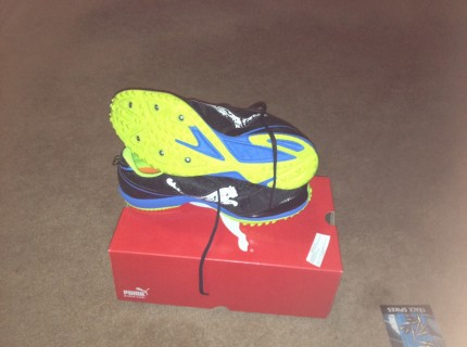 New spikes.