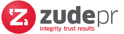 Glasgow PR agency for small companies Zude PR logo