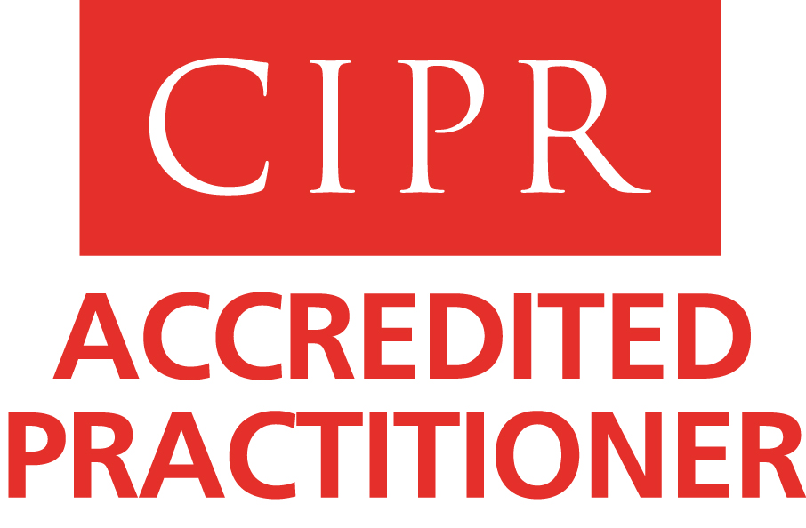 Trust in PR is key. Accredited Practitioner.