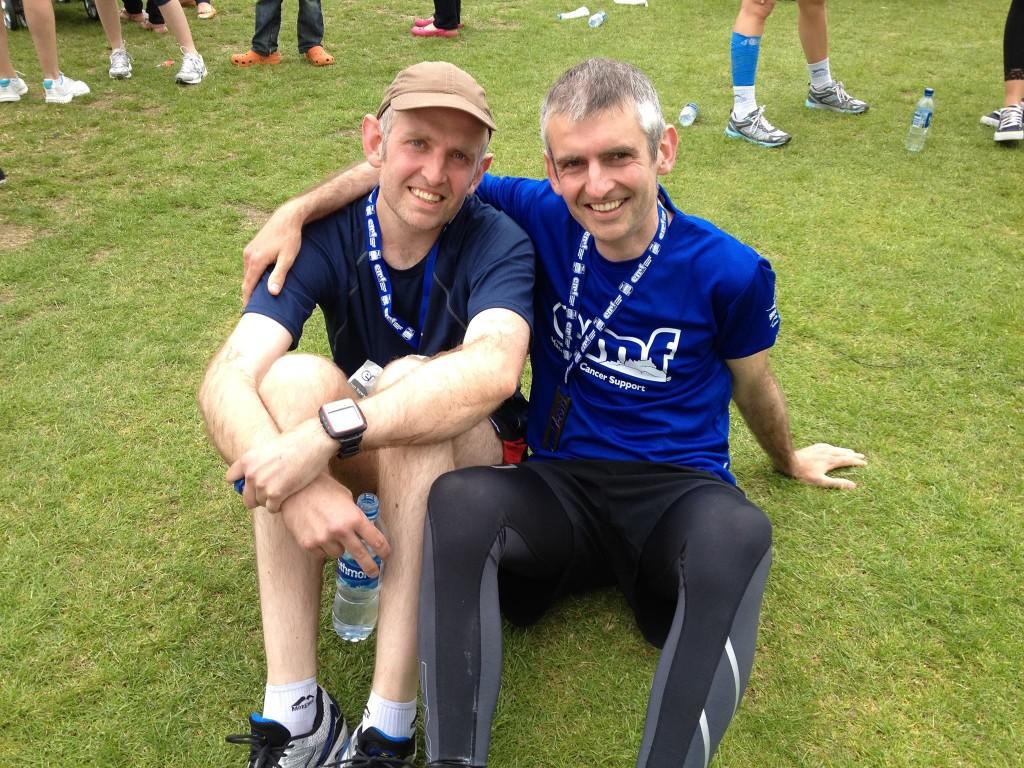 Edinburgh Marathon PR was challenging in 2014.