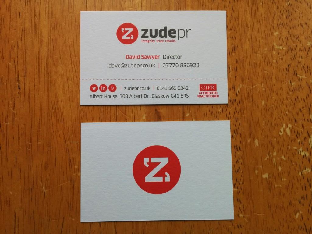 David Sawyer of Glasgow PR company Zude PR.