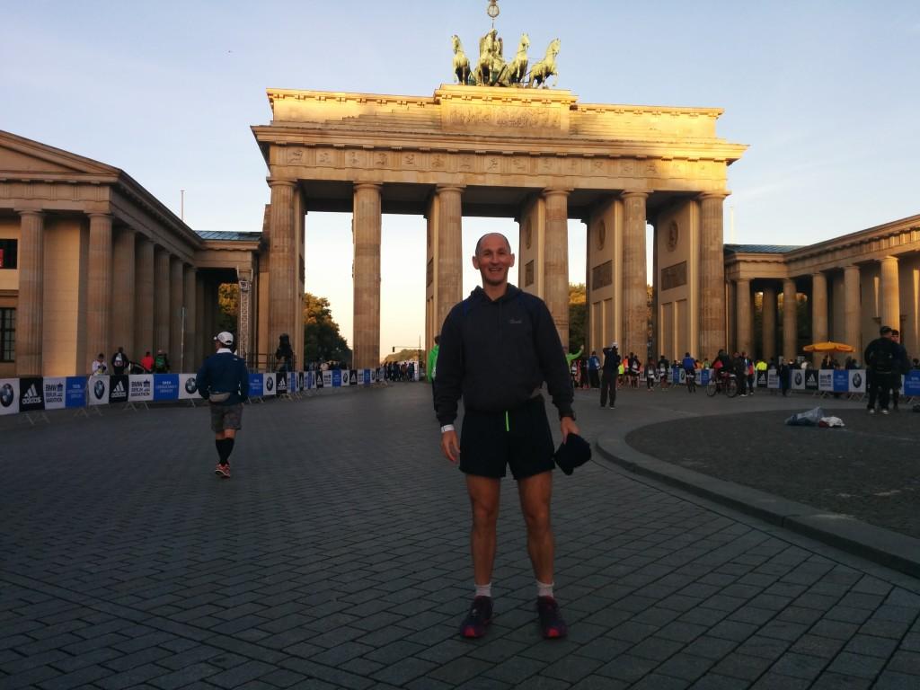 Jason Steele Berlin Marathon 2014.