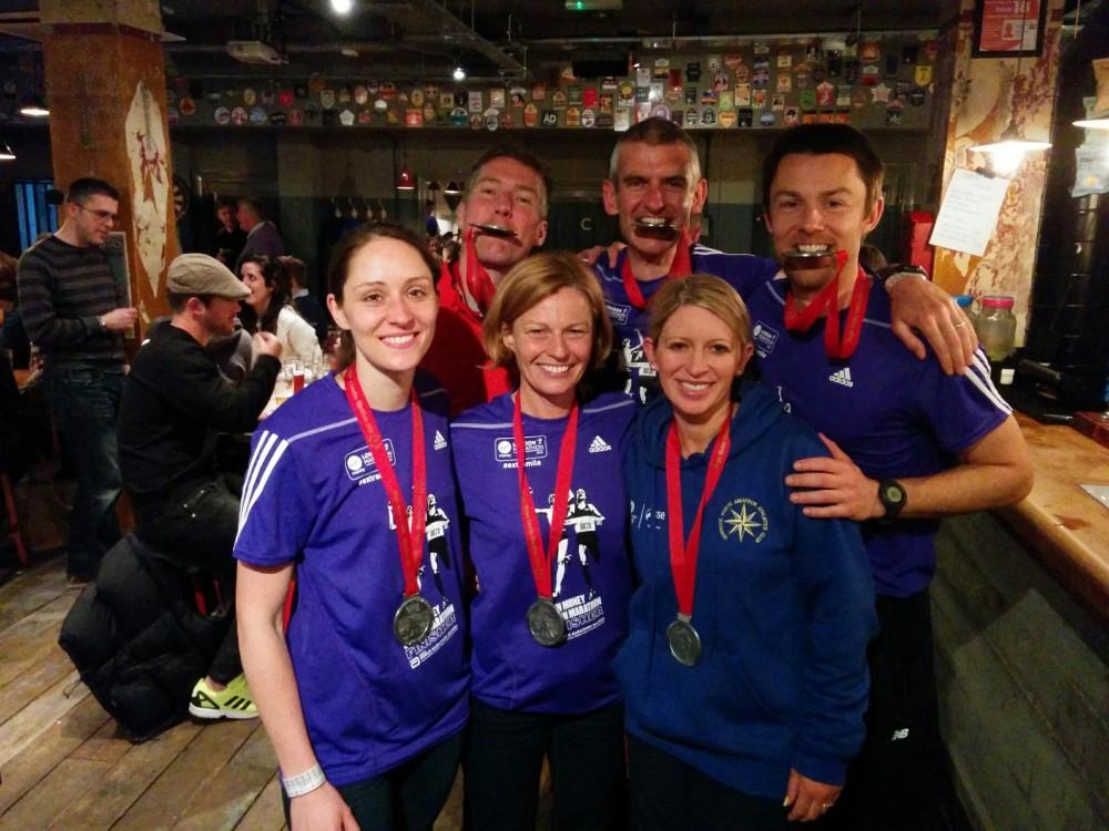 Giffnock North London Marathon 2015