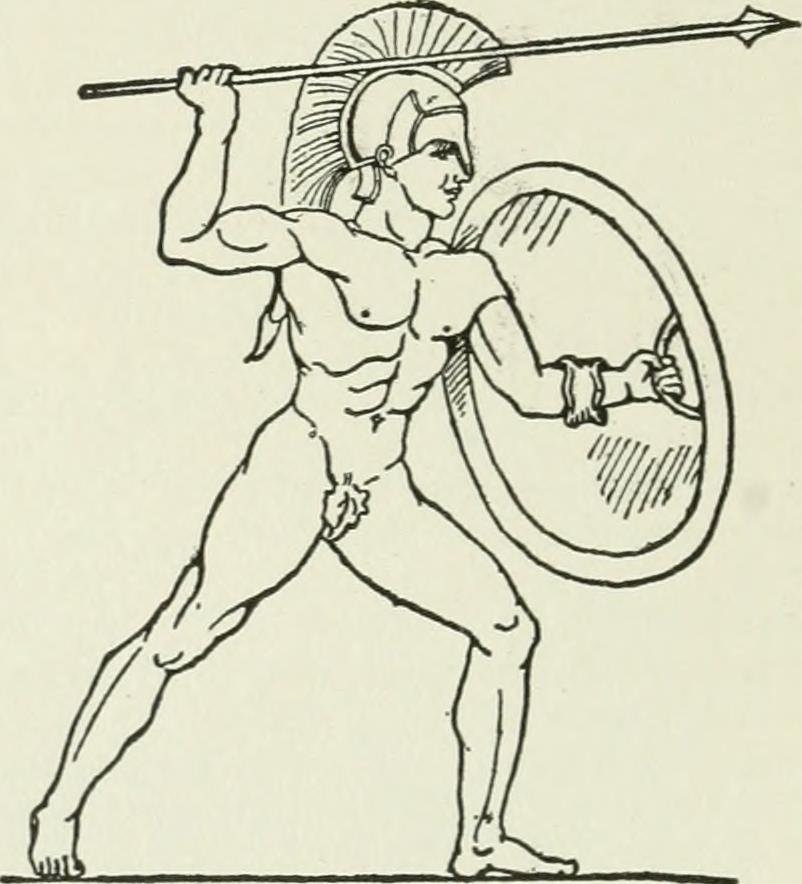 Achilles god running