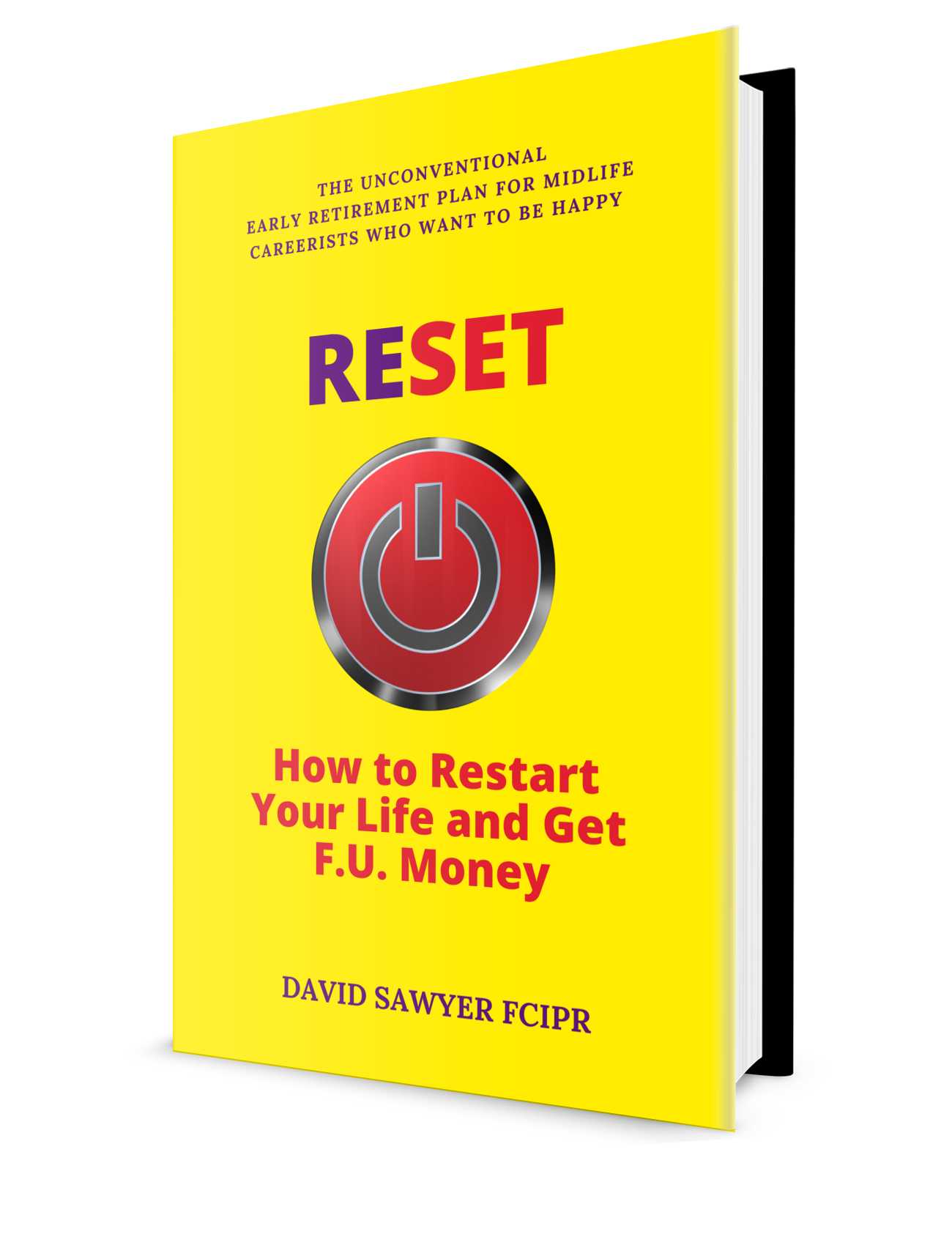 Zude PR David Sawyer Glasgow RESET hardback version.