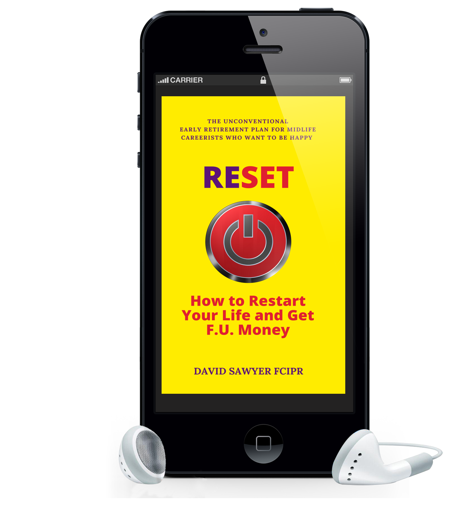 reset book self-help david sawyer kindle smartphone
