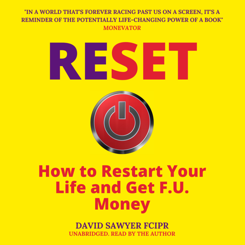 reset financial independence david sawyer